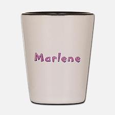 Marlene Pink Giraffe Shot Glass