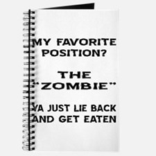 My Favorite Position? Journal