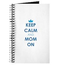 Keep Calm and Mom On Journal