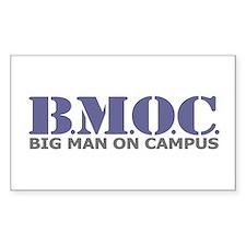 BMOC (Big Man On Campus) Rectangle Decal