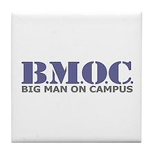 BMOC (Big Man On Campus) Tile Coaster