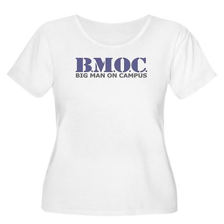 BMOC (Big Man On Campus) Women's Plus Size Scoop N