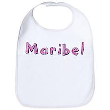 Maribel Pink Giraffe Bib