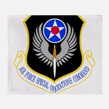 Special Operations Command Throw Blanket