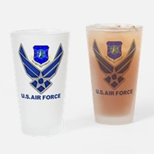 Space Command Drinking Glass