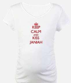 Keep Calm and Kiss Janiah Shirt