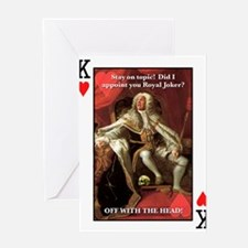 Cute King house Greeting Card