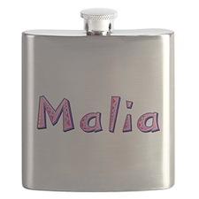 Malia Pink Giraffe Flask