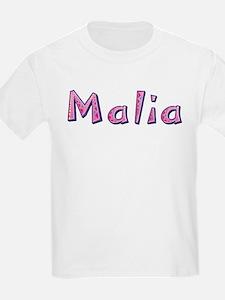 Malia Pink Giraffe T-Shirt