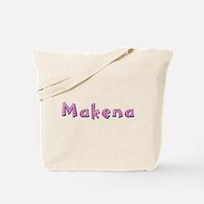 Makena Pink Giraffe Tote Bag