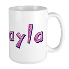 Makayla Pink Giraffe Mugs