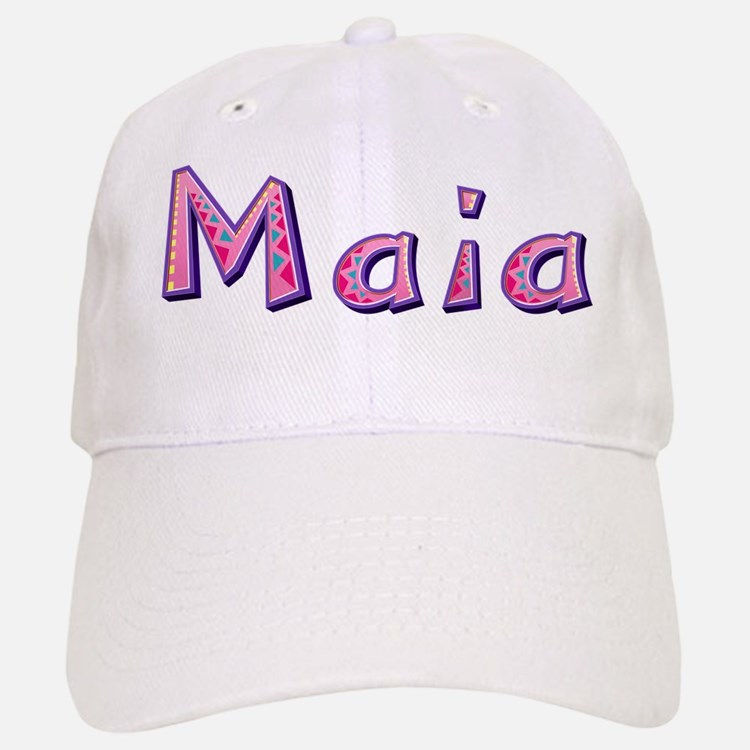 Maia Pink Giraffe Baseball Baseball Baseball Cap