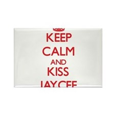 Keep Calm and Kiss Jaycee Magnets