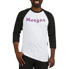 Maegan Pink Giraffe Baseball Jersey