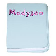 Madyson Pink Giraffe baby blanket