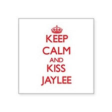 Keep Calm and Kiss Jaylee Sticker