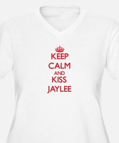 Keep Calm and Kiss Jaylee Plus Size T-Shirt