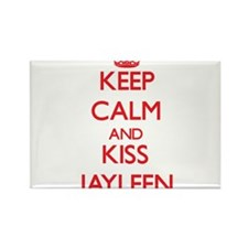 Keep Calm and Kiss Jayleen Magnets