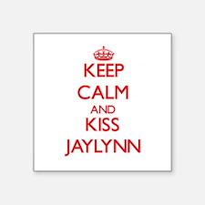 Keep Calm and Kiss Jaylynn Sticker