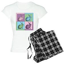 Easter Bunny Warhol Pajamas