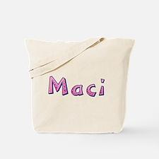 Maci Pink Giraffe Tote Bag
