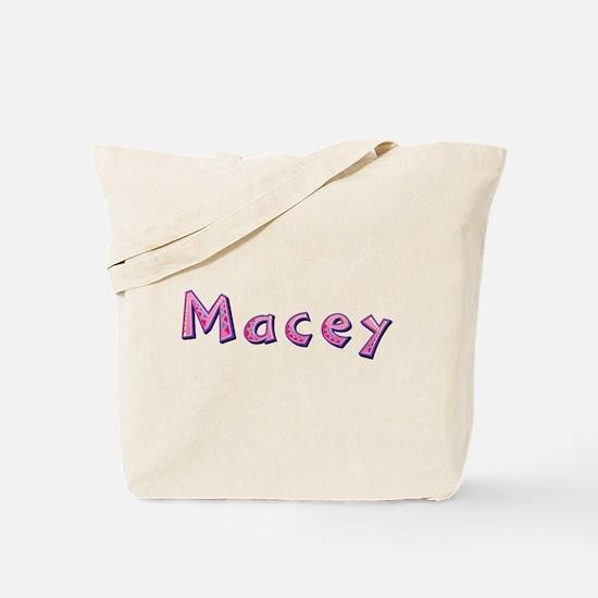 Macey Pink Giraffe Tote Bag