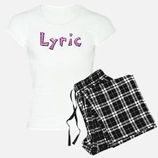 Lyric Pink Giraffe Pajamas