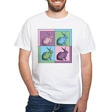 Easter Bunny Warhol T-Shirt