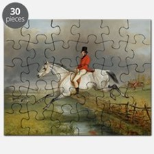 Clearing the Fence on the Hunt Puzzle