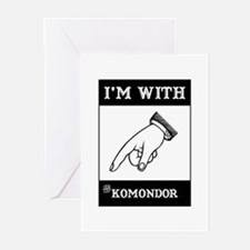 With the Komondor Greeting Cards (Pk of 10)