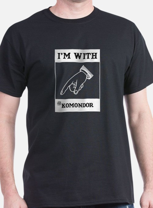 With the Komondor T-Shirt