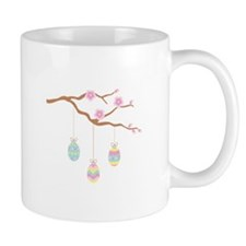 Easter Egg Cherry Blossom Mugs