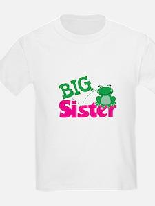Big Sister Frog New Sibling T-Shirt