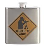 Birder at Work Flask