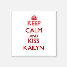 Keep Calm and Kiss Kailyn Sticker