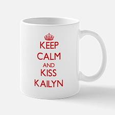 Keep Calm and Kiss Kailyn Mugs