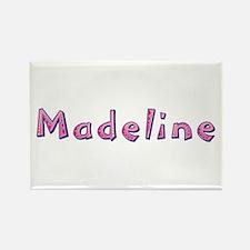 Madeline Pink Giraffe Rectangle Magnet