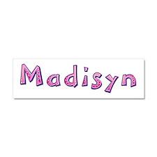 Madisyn Pink Giraffe 10x3 Car Magnet