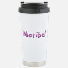 Maribel Pink Giraffe Travel Mug