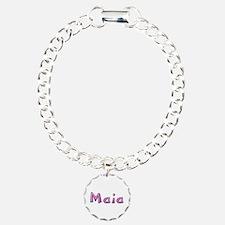 Maia Pink Giraffe Bracelet