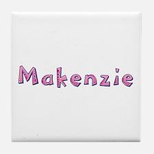 Makenzie Pink Giraffe Tile Coaster
