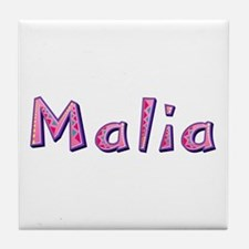 Malia Pink Giraffe Tile Coaster