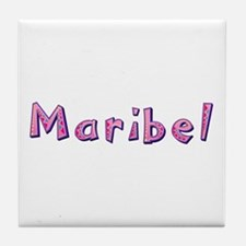 Maribel Pink Giraffe Tile Coaster
