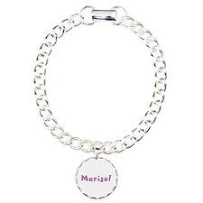 Marisol Pink Giraffe Charm Bracelet