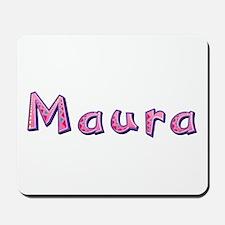 Maura Pink Giraffe Mousepad