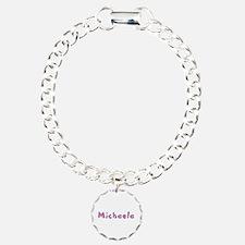 Michaela Pink Giraffe Bracelet