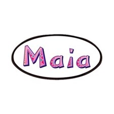 Maia Pink Giraffe Patch