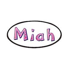 Miah Pink Giraffe Patch