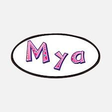 Mya Pink Giraffe Patch