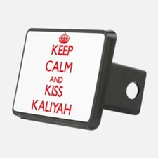 Keep Calm and Kiss Kaliyah Hitch Cover